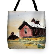 Mine Buildings Southern Cross Ghost Town Montana Tote Bag