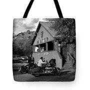 Mine Shaft Bikers Tote Bag