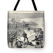 Miner Strike, 1888 Tote Bag