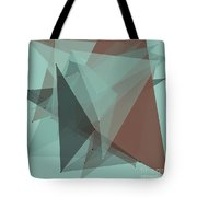 Mineral Polygon Pattern Tote Bag
