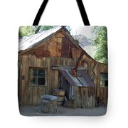 Miners Cabin. Tote Bag