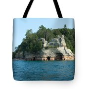 Miner's Castle On The Water Tote Bag
