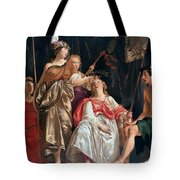 Minerva Crowns The Maid Of Leiden Tote Bag
