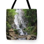 Mingo Falls In North Carolina Tote Bag