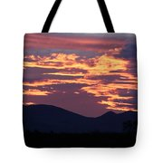 Mingus Sunset 052814a Tote Bag