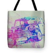Mini Cooper Tote Bag by Naxart Studio