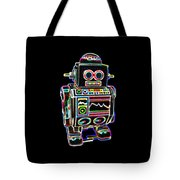Mini D Robot Tote Bag