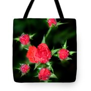 Mini Roses Tote Bag