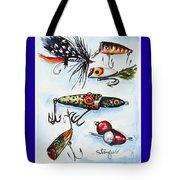 Mini Study- Fishing Lures Tote Bag