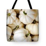Mini White Pumpkins Tote Bag
