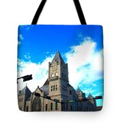 Miniature Castle Tote Bag