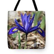 Miniature Iris Tote Bag