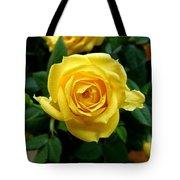 Miniature Yellow Rose Tote Bag
