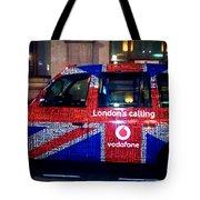 Minicab Tote Bag by Milan Mirkovic