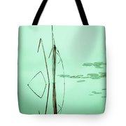 Minimal Grass Tote Bag