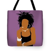 Minimalist Lauryn Hill Tote Bag