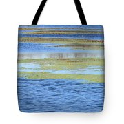 Brazos Bend Wetland Abstract Tote Bag