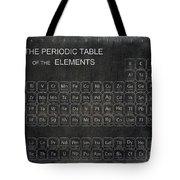 Minimalist Periodic Table Tote Bag by Daniel Hagerman