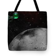 Mining Operation Deep Space Tote Bag