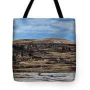 Mining Town Panorama Tote Bag by Angus Hooper Iii