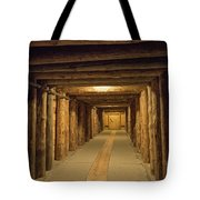 Mining Tunnel Tote Bag