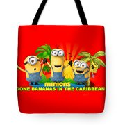 Minions In The Caribbean Tote Bag