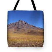 Miniques Volcano And High Altitude Desert Chile Tote Bag