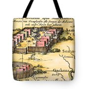 Minisink Village, 1650s Tote Bag