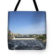 Minneapolis - Saint Anthony Falls Tote Bag