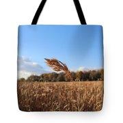 Minnesota Lake Grass Tote Bag
