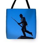 Minnesota Soldier Monument At Gettysburg Tote Bag