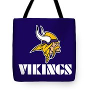 Minnesota Vikings Tote Bag