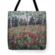 Minnesota Wildflowers Tote Bag
