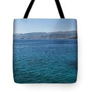 Mirabello Bay Panorama Tote Bag