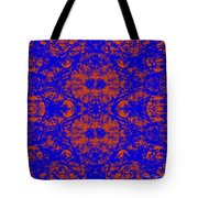 Mirage In Blue - Abstract Tote Bag