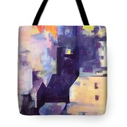 Mirage In The Concrete City Tote Bag