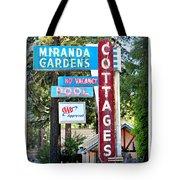 Miranda Gardens Tote Bag