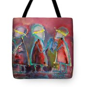 Mirror Blindness Tote Bag