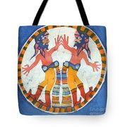 Mirror Image Pirates Tote Bag