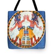 Mirror Image Pirates Tote Bag by Carol  Law Conklin
