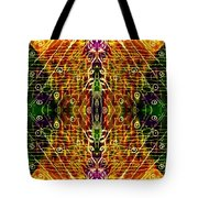 Mirrored Inferno Tote Bag
