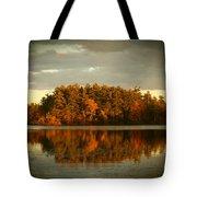 Mirror Lake Image Of Fall Tote Bag