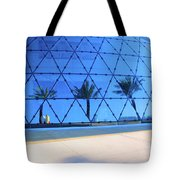 Mirror Of Palms Tote Bag