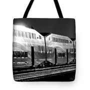 Mirror Of The Winter Sun Bw Tote Bag