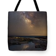 Mirror Reflections Panorama Tote Bag
