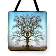 Mirror Tree Tote Bag