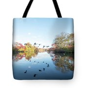 Mirrored Formation Tote Bag