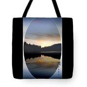 Mirrored Lake Tote Bag
