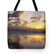 Mirrored Mexico Sunset Tote Bag