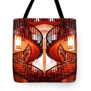 Mirrored Stairs Tote Bag